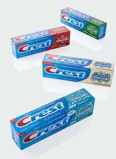 Зубные пасты Crest Toothpaste
