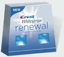 Отбеливание зубов Crest Whitestrips Renewal