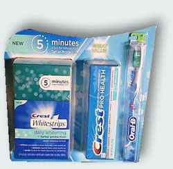 Crest Whitestrips Daily Whitening & Tartar Protection Pack