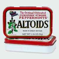 Свежее дыхание с Altoids Mints Peppermints Алтоидс