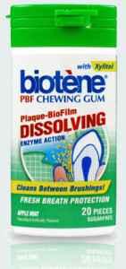 Лечебная жвачка Biotene PBF Plaque Dissolving Gum Биотен