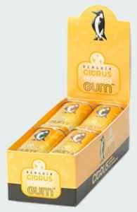 жвачка Penguin Energy Gum Citrus