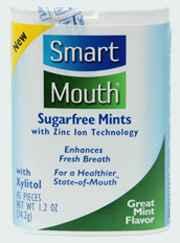 Устраняют плохой запах изо рта SmartMouth Great Mint