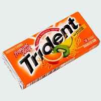 жвачка trident tropical