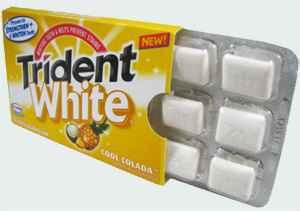 тридент trident white colada