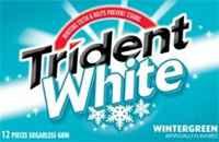 Жевательная резинка Trident White Wintergreen