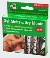 Убивают неприятный запах изо рта таблетки XyliMelts Discs for Dry Mouth