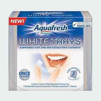 Полоски для отбеливания зубов Aquafresh White Trays (Аквафреш)