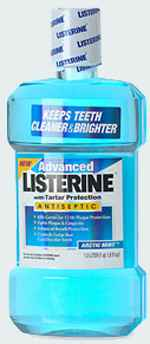 Ополаскиватель для полости рта LISTERINE Advanced Antiseptic Mouthwash with Tartar Control Arctic Mint Листерин