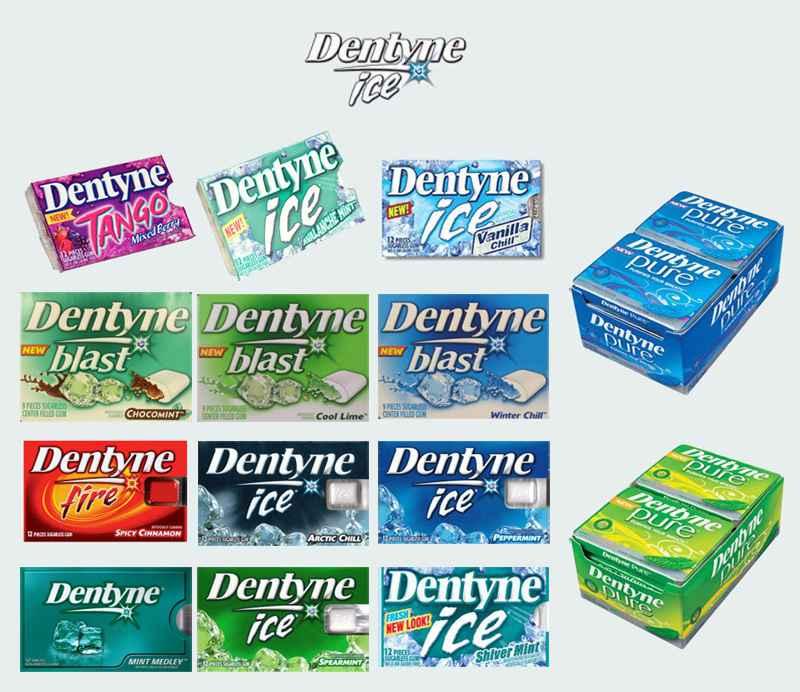 Dentyne Ice (Дентин лед)