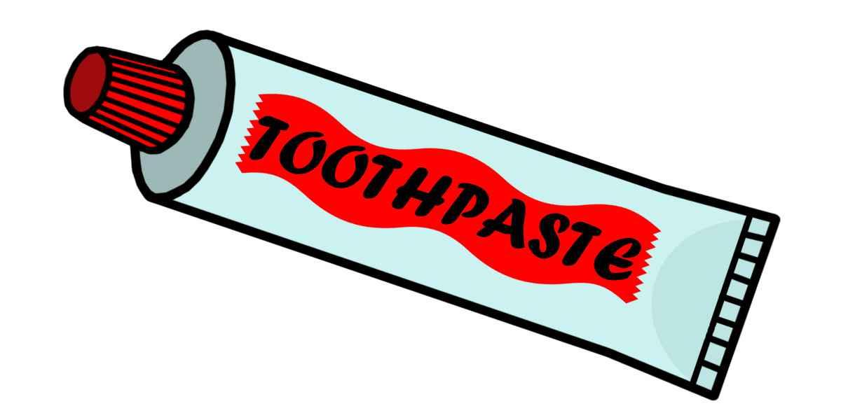 Зубная паста разная