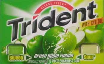 Жевательная резинка Тридент
