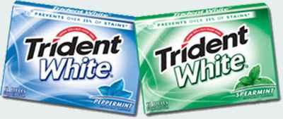 купить жвачку trident white