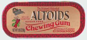 altoids cinnamon gum