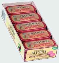 жевать жвачку altoids