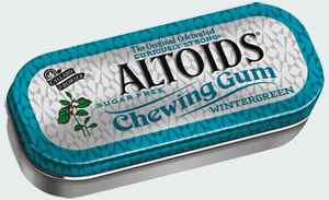 продажа altoids gum wintergreen