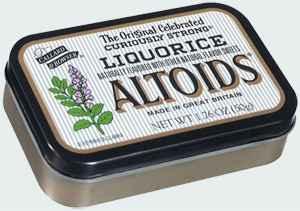 леденцы купить altoids liquorice