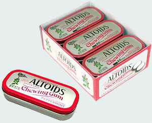 altoids peppermint gum