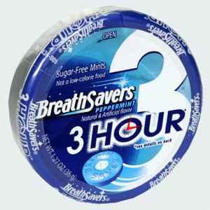 breath savers peppermint