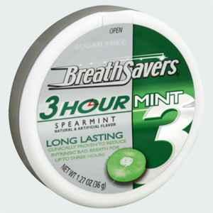 свежее дыхание breath saversspearmint