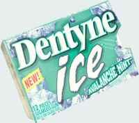 dentyne avalanche mint