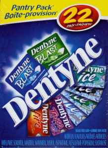 chewing gum dentyne