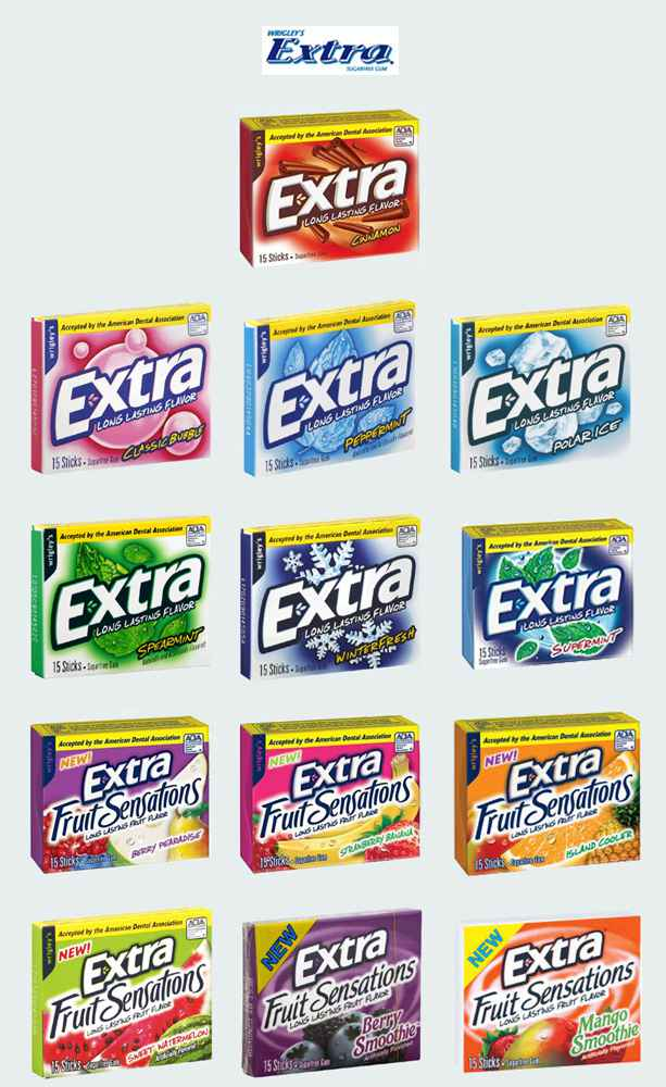 Extra Chewing Gum (Экстра)
