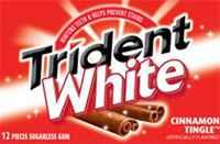 Жевательная резинка Trident White Cinnamon