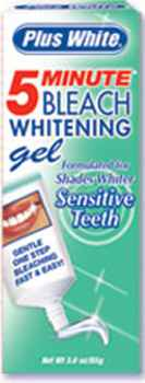 « title=»Plus White 5 Minute Bleach Whitening Gel for sensivity teeth (Плюс вайт)