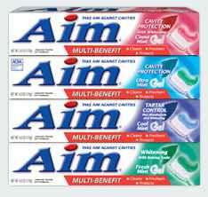 отбеливающая зубная паста купить aim toothpaste