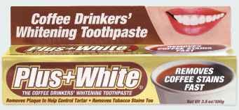 отбеливающая зубная паста для любителей кофе plus white coffee