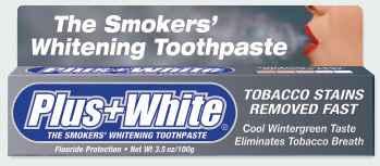 отбеливающая зубная паста для курильщиков plus white