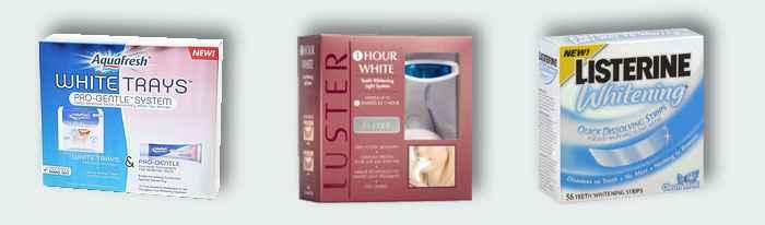Комплексы для отбеливания зубов