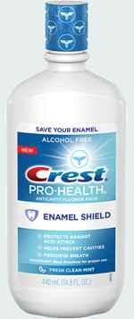 ополаскиватель для рта crest pro health enamel