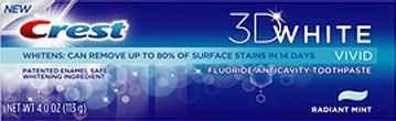 купить зубную пасту crest 3D Vivid Radiant