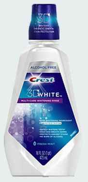 ополоскиватель для полости рта crest 3D whitening rinse
