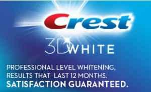 Серия зубных паст Crest Vivid White 3D Яркая белизна 3Д