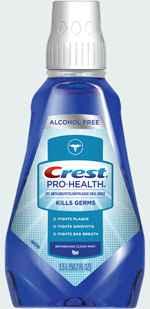 ополаскиватель для полости рта crest pro-health clean mint
