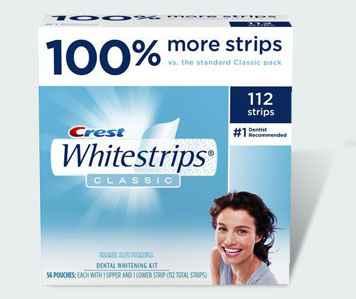 система домашнего отбеливания зубов Crest Whitestrips Classic