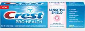 Зубная паста для чувствительных зубов Crest Pro-Health Sensitive Shield Toothpaste