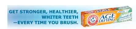 Зубная паста для восстановления эмали Arm & Hammer Dental Care Age Defying Fluoride & Liquid Calcium Mint Toothpaste (Арм Хаммер восстановление и укрепление эмлаи с жидким кальцием)