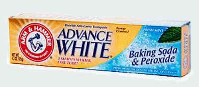 Интернет магазин зубная паста Arm & Hammer Dental Care Daily Fluoride Mint Toothpaste Dental Baking Soda & Peroxide (Арм Хаммер профессиональная )