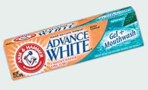 Какую зубную пасту ARM & HAMMER Advance White Gel + Mouthwash Toothpaste (Арм Хаммер продвинутое отбеливание + лучшее освежение дыхания)