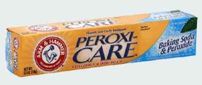 Зубная паста с содой и перекисью Arm & Hammer PeroxiCare Baking Soda & Peroxide Fresh Mint Toothpaste (Арм Хаммер)