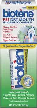 Лечебная зубная паста Biotene Dry Mouth Toothpaste(Биотен)