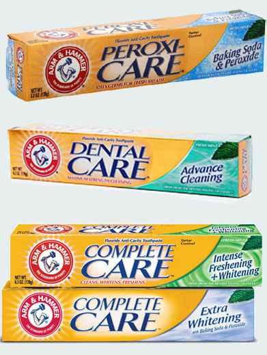 Зубная паста с перекисью и содой Arm&Hammer (Арм Хаммер)