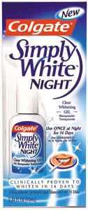 Colgate Simply White Night