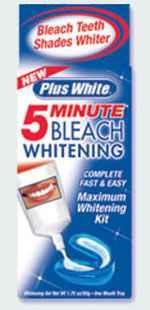 Инструкция по применению Быстрое отбеливание зубов Plus White 5 Minute Bleach Whitening Kit (Плюс Вайт максимальное отбеливание)