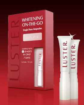 Щадящее отбеливание зубов Luster On-Demand Whitening System  (Ластер)