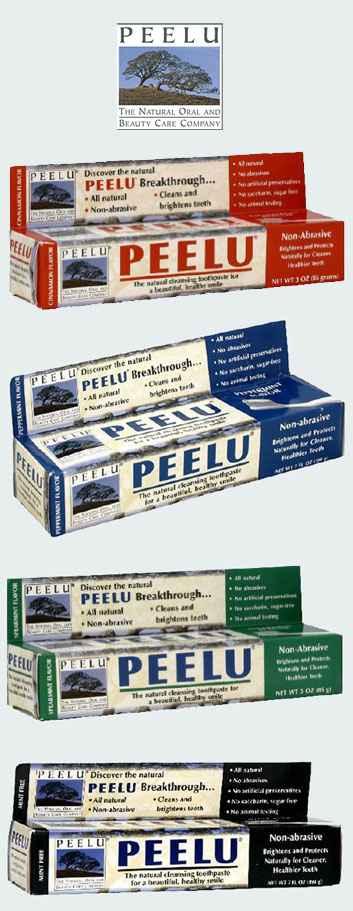 Натуральная зубная паста Peelu Toothpaste (Пилу)